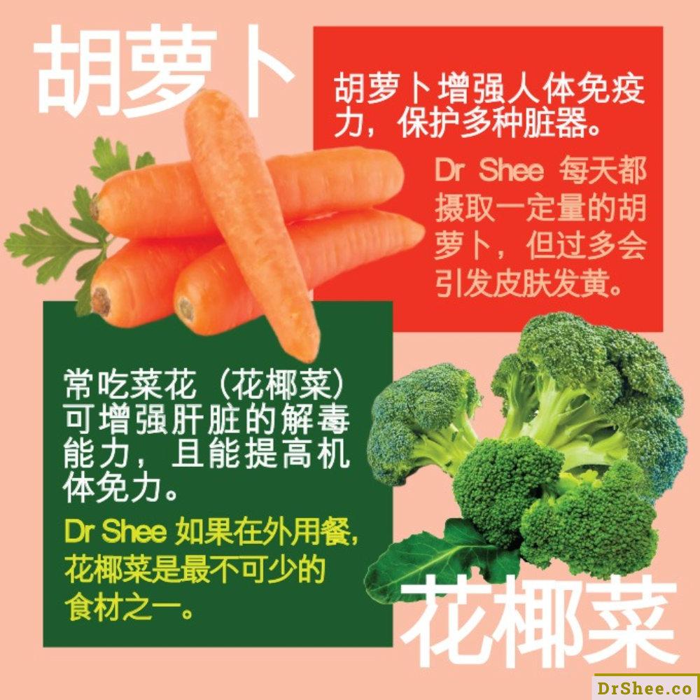 Dr Shee 食疗养生 提高免疫力食疗 Dr Shee 公开个人最爱的不生病食材 Dr Shee 徐悦馨博士 整体营养自然医学 A02
