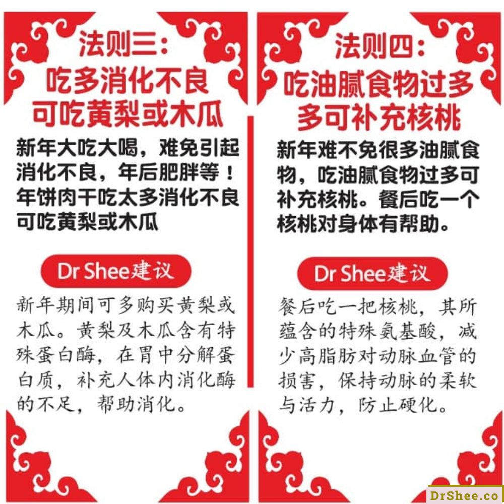 Dr Shee 分享 健康年饭法 这样吃年饭才健康 疫情下的团圆饭 Dr Shee 徐悦馨博士 整体营养自然医学 A03