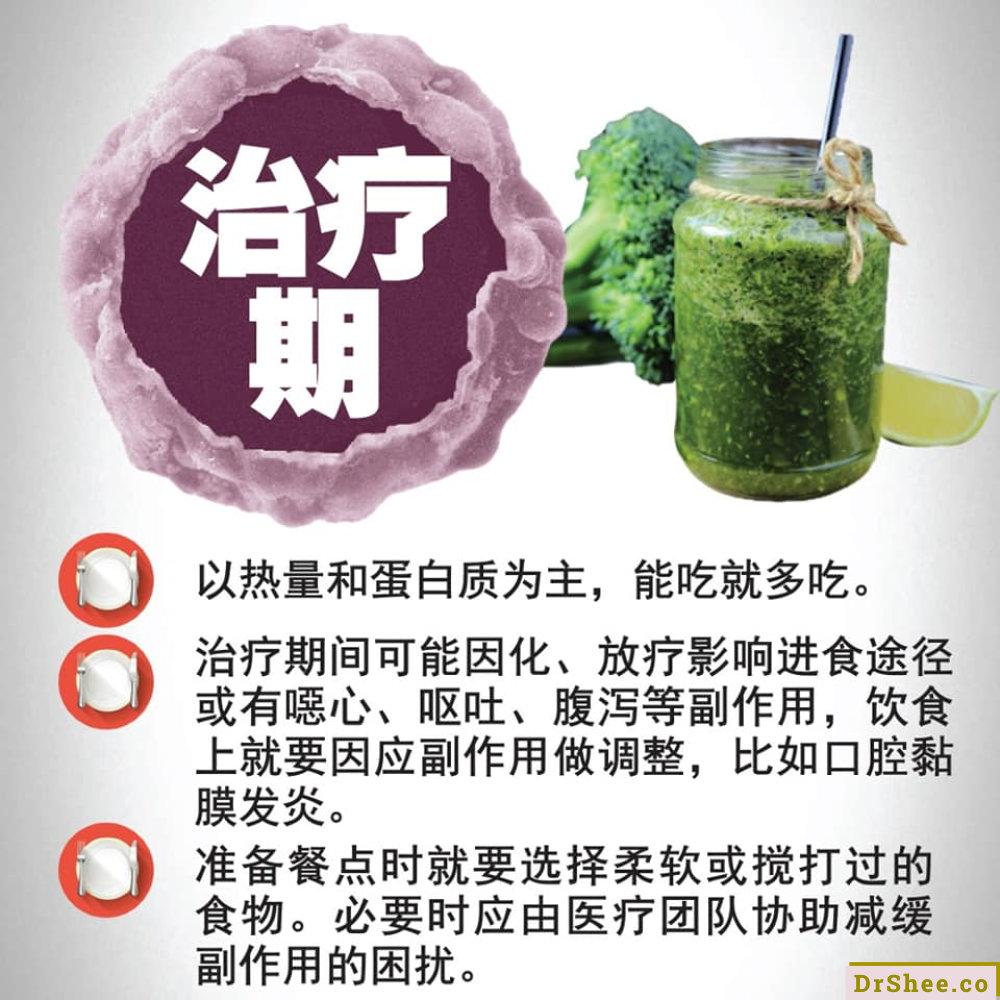 食疗养生 Dr Shee 正确的癌症饮食究竟该怎麽吃 Dr Shee 徐悦馨博士 整体营养自然医学 A03