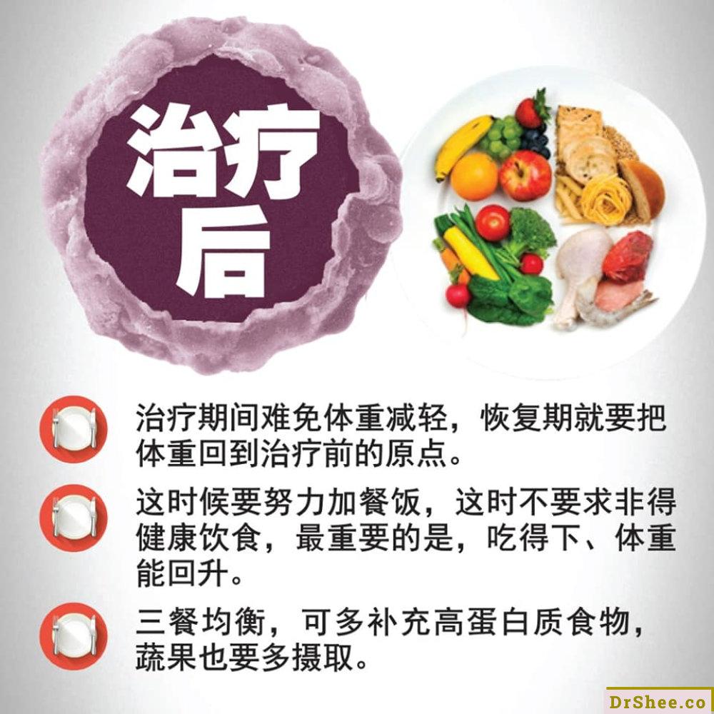 食疗养生 Dr Shee 正确的癌症饮食究竟该怎麽吃 Dr Shee 徐悦馨博士 整体营养自然医学 A04